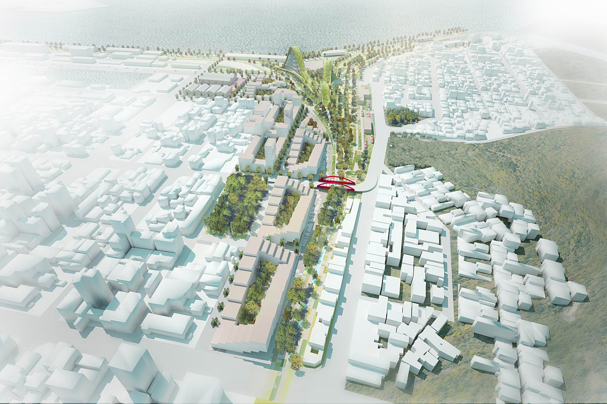 Comp kaohsiung port station urban design competition for Landscape design competition