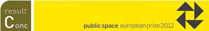 ganadores. public space. european prize 2012