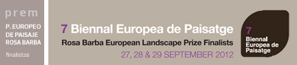 Finalistas Premio Europeo de Paisaje Rosa Barba
