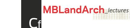MBLandArch-lectures
