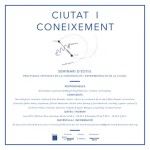 CIUTAT I CONEIXEMENT