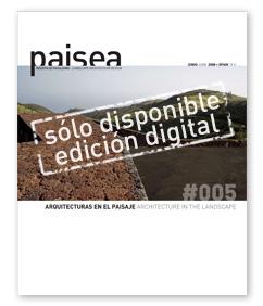 paisea #005 arquitecturas en el paisaje_sólo disponible edición digital