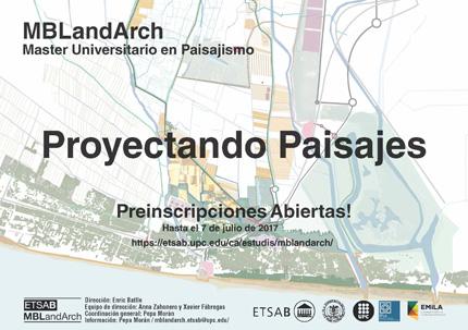 Mblandarch master universitario en paisajismo paisea - Master en paisajismo ...