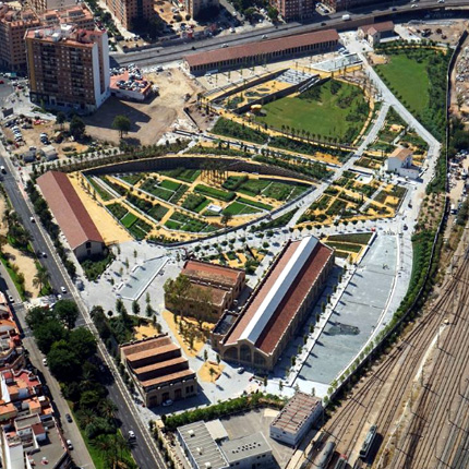 The Last Park Designed By Landscape >> The First Phase Of The Central Park Of Valencia Is Open To The