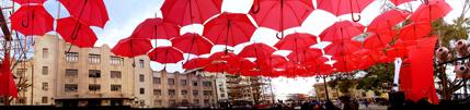 plaza de los paraguas. chile