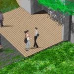 proyectar el jardín