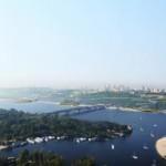 vista 01 puentes terrestes – ganador [conc] paisajismo en Kyiv para la EURO-2012